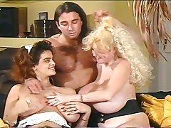 Big Boobs, Group Sex, Hairy, MILF