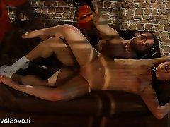 BDSM, Bondage, Brunette, Russian