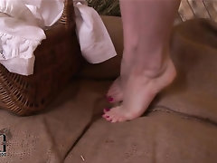 Feet, Fetish, Solo, Teen