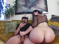 Big Butts, Lingerie, MILF, Handjob
