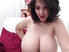 Big Boobs, Brunette, Webcam