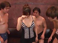Asian, Facial, Group Sex, Japanese