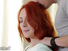 Hardcore, Redhead, Creampie, Russian