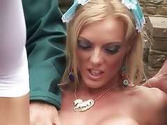 MILF, Blowjob, Big Boobs, Blonde