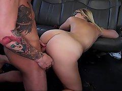 Blonde, Ass, Fucking, Car