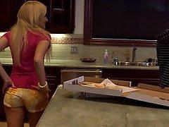 Bionde, Carino, Sesso in cucina, Adolescenti