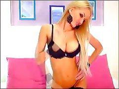Big Boobs, Blonde, Russian, Webcam