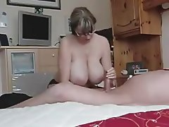 Amateur, Big Boobs, Handjob, MILF