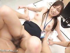 Asian, Big Tits, Blowjob, Feet