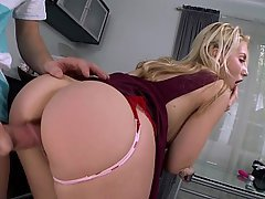 And ass blonde beautiful