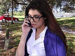 Černovlásky, Studentů, Brýle, Studéntka