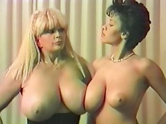Lesbian, Softcore, Big Boobs, Vintage