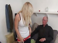 Babe, Blowjob, Cumshot, Old and Young