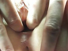 Brunette, Masturbation, Pantyhose, MILF
