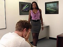 Blowjob, MILF, Office, Teacher