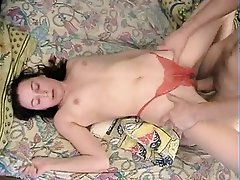Blowjob, Brunette, Old and Young