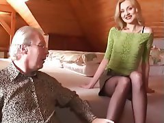 Pantyhose, Old and Young