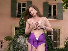 Babe, Big Tits, Blowjob, Public