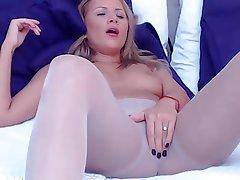 Amateur, Pantyhose, Stockings, Webcam