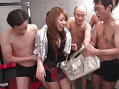 Asian, Brunette, Hairy, Japanese